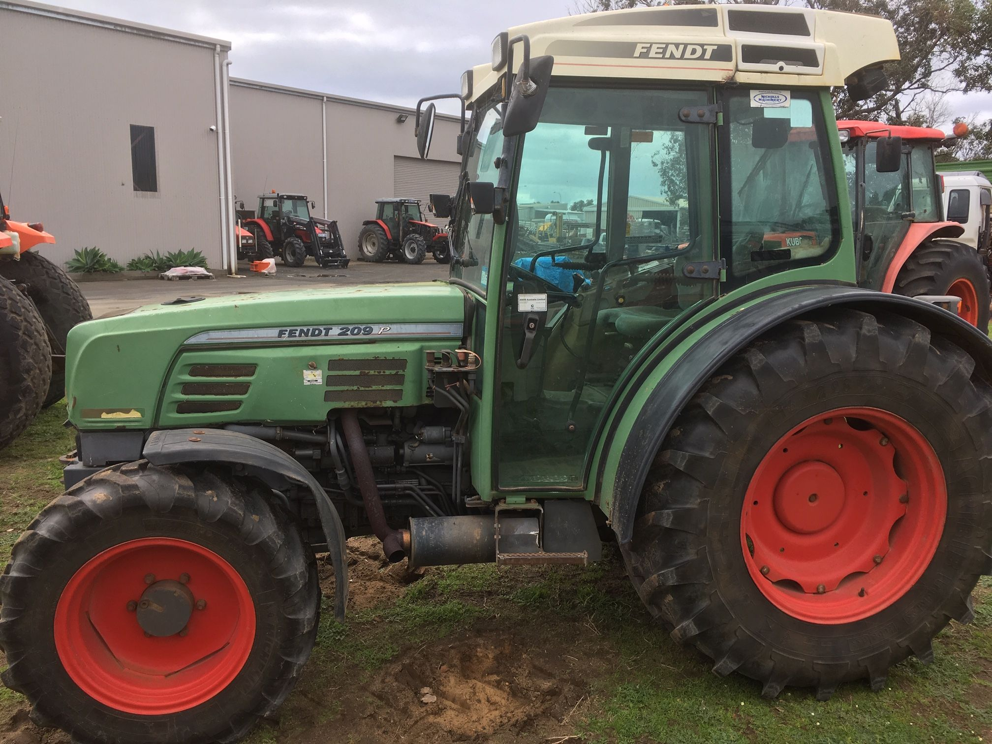 Used Fendt 209P